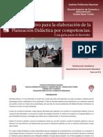 Instructivo-Para Planeaciones Didacticas Por Competencias POLi