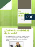 La Usabilidad de La Web