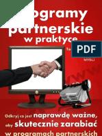 Programy Partnerskie w Praktyce  poradnik darmowy ebook pdf pobierz darmowe ebooki