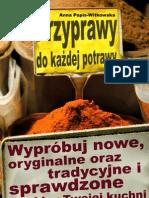 Przyprawy Do Kazdej Potrawy  poradnik darmowy ebook pdf pobierz darmowe ebooki