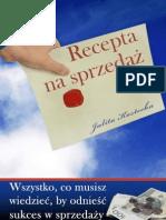Recepta_na_sprzedaz  poradnik darmowy ebook pdf pobierz darmowe ebooki