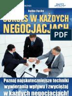 Sukces w Kazdych Negocjacjach  poradnik darmowy ebook pdf pobierz darmowe ebooki