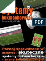 Systemy_bukmacherskie  poradnik darmowy ebook pdf pobierz darmowe ebooki