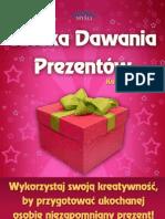 Sztuka_dawania_prezentow  poradnik darmowy ebook pdf pobierz darmowe ebooki