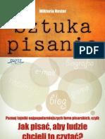 Sztuka_pisania  poradnik darmowy ebook pdf pobierz darmowe ebooki