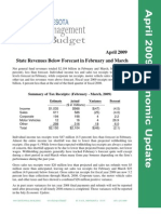 April 2009 Economic Update