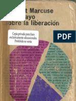 Marcuse- Un Ensayo Sobre La Liberacion