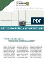 Hábitat Productivo y Autosustentable.Hugo Ruibal Handabaka