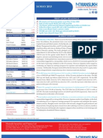 Go Ahead for Equity Morning Note 14 May 2013-Mansukh Investment and Trading Solution