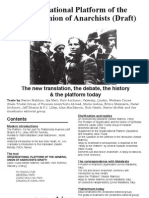 Organizational Platform of the General Union of Anarchists (Draft)