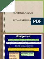HOMOGENISASI