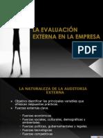 Administracion Estrategica - Evaluacion Externa