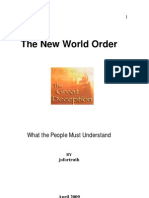 The New World Order - The Great Deception