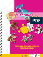 Cuadernos de Rabat nº 16.Tareas de español lengua extranjera