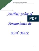 Alvarez Analisis Pensamiento de Karl Marx