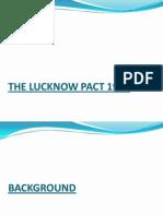 Lakknow Pact
