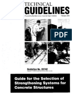 Guide for the Selection of Strengthening Systems for Concrete Structures