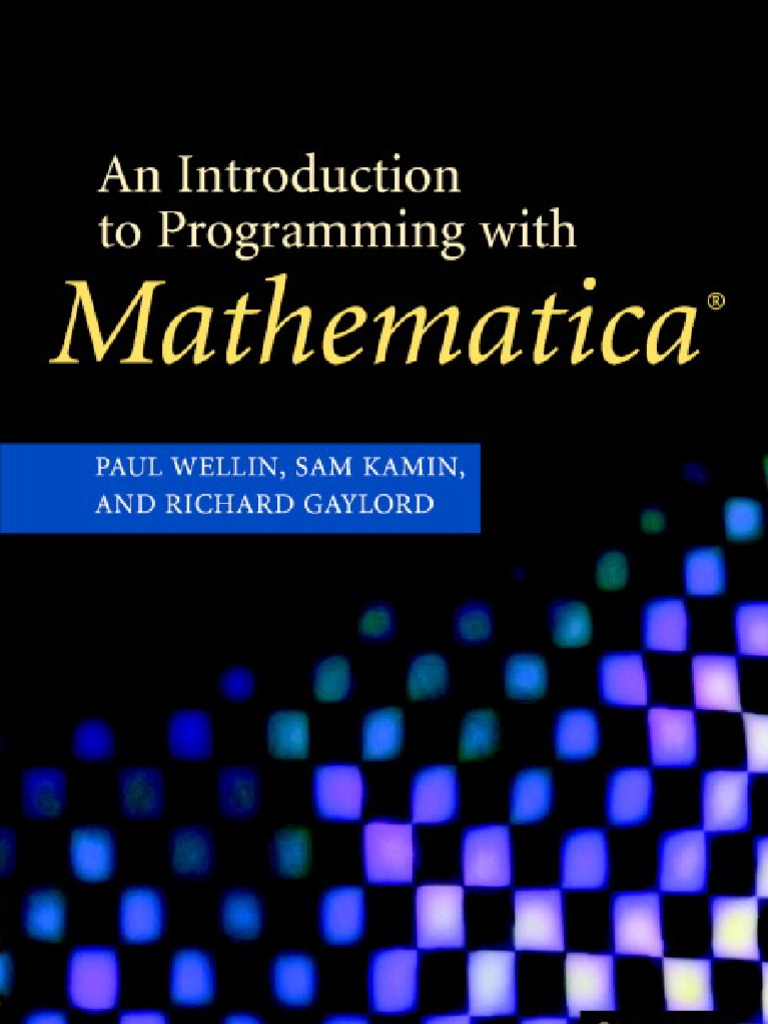 An introduction to programming with mathematicapdf command line an introduction to programming with mathematicapdf command line interface graphical user interfaces fandeluxe Image collections