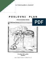 Biznis Plan-proizvodnja Meda