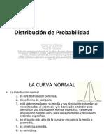 Distribucion de La Probabilidad