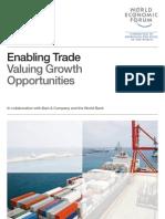 Enabling Trade Report 2013, World Trade Forum