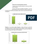 Interpretación de la encuesta aplicada a alumnos