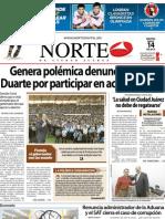 Periodico Norte de Ciudad Juárez 14 de Mayo de 2013