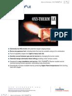 E Oxytherm Le i Bulletin