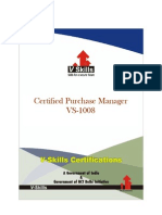 Certified Purchase Manager