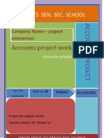 Accounts Project File