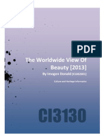The Worldwide View of Beauty