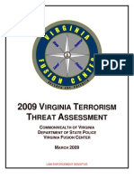 """Virginia Fusion Center Releases """"Homegrown Terrorism"""" Document"""