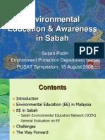 Environmental Education & Awareness in Sabah