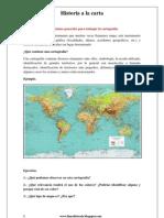 Instrucciones generales para trabajar la cartografía