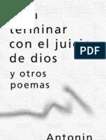 Artaud Antonin - Para Terminar Con El Juicio de Dios