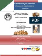 UM ARBA Rabbit Show 2013 Catalogue