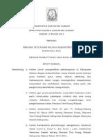 Peraturan Daerah Nomor 12 Tahun 2012 Tentang Rtrw