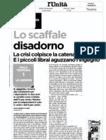 La crisi delle librerie (Feltrinelli e gli indipendenti)