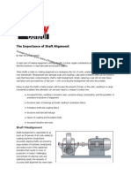 Pumps - The Importance of Shaft Alignment