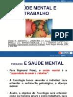 Saúde mental e Trabalho 04-03-13