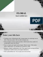 BPT - Grunge Floral