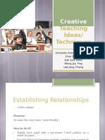 Creative Teaching Ideas_Techniques