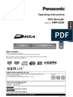 Panasonic DMREZ28-MUL Operating Instructions
