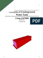 Analysis of Underground Using SAP2000