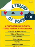 David Sklansky - Theory 0f Poker