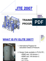 PV Elite Training Presentation(2007)