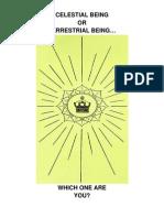 Celestial Being or Terrestrial Being[1] 2