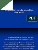 Kongenitalni i razvojni anomalii na 'rbeten stolb.ppt