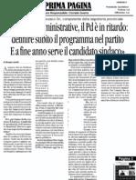 14 maggio 2013 - Intervista a Prima Pagina