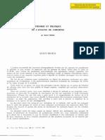 1980, B. Mesnil, Théorie et pratique des cohortes